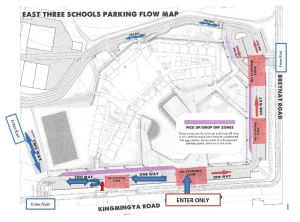 parking lot update flow Spring 2015