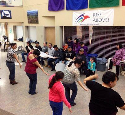 dancers practice